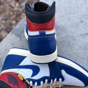 a79f691fc92 Shoes - Jordan 1 Retro High Union Los Angeles Blue Toe